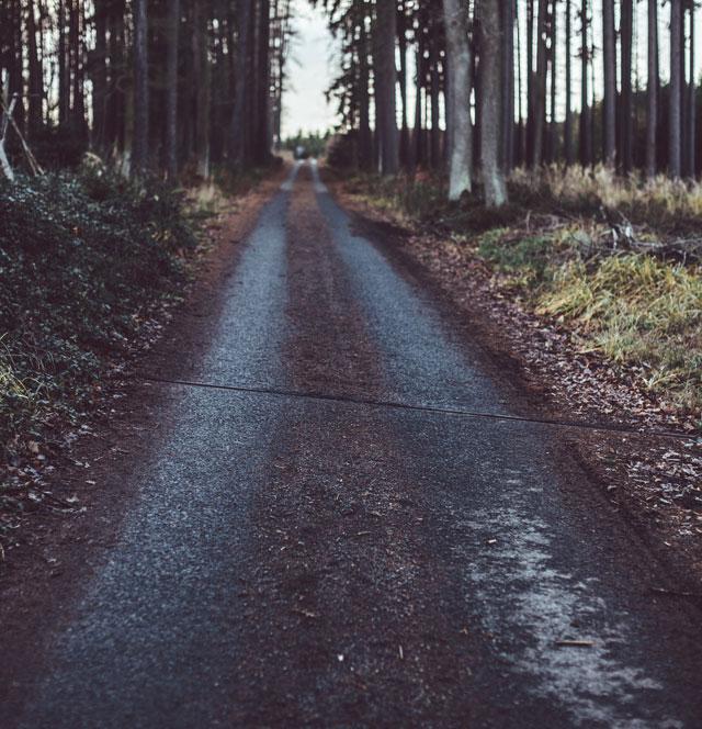 dirty road