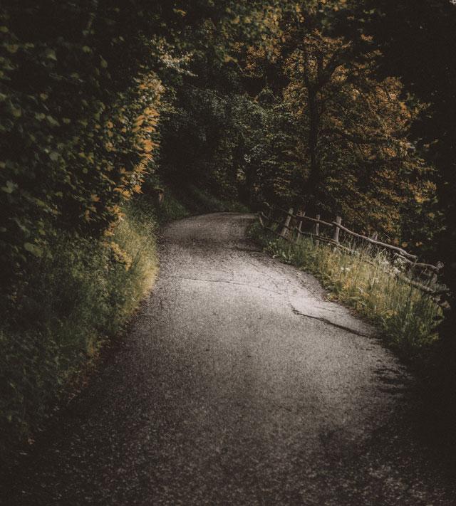 low volume road