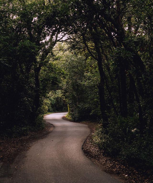 unused road
