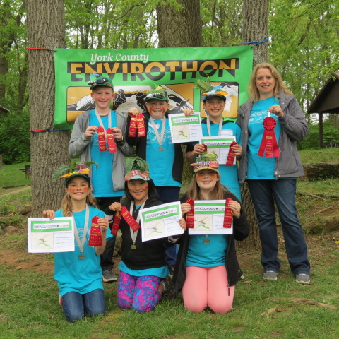 5th & 6th Grades - 2nd Place Indian Rock Sunbathing Salamanders
