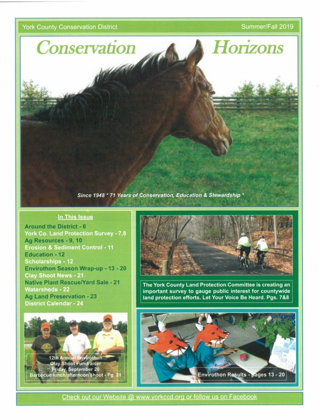 Newsletters | Seasonal News | York County Conservation District
